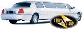 Limo Hire Sunderland - Cars for Stars (Sunderland) offering white, silver, black and vanilla white limos for hire